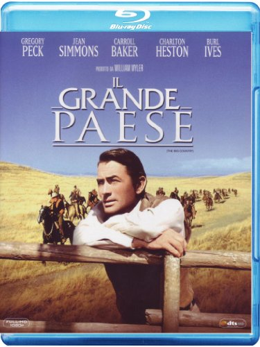 Il grande paese [Blu-ray] [IT Import]