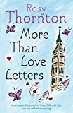 More Than Love Letters Rosy Thornton