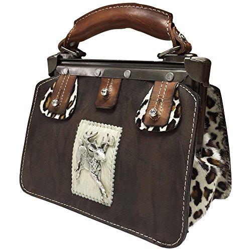 Trachtentasche-Handtasche-Trachten-Tasche-versilbert-Swarovski-Elements-Unikat