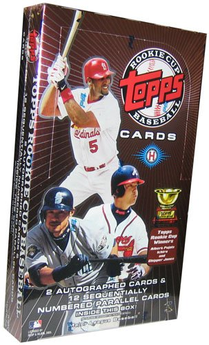 2005 Topps Rookie Cup Baseball HOBBY Box – 24p7c