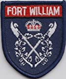 Fort William Inverness Town Crest Scotland Scottish Flag Embroidered Patch Badge