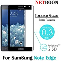 NETBOON® Branded Samsung Galaxy Note Edge Tempered Glass Screen Protector With Full Cover - Anti Explosion, Original...