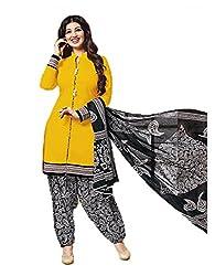 Aarvi Women's Cotton Unstiched Dress Material Multicolor -CV00102