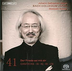 Bach : Cantates sacrées vol. 41 BWV 56, 82, 158, 84