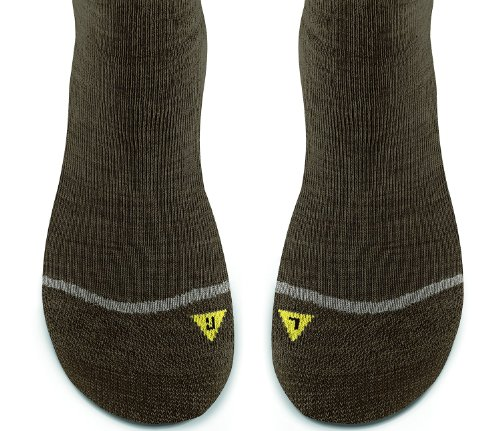 KEEN Men Bellingham Low Ultralite Sock,Dark Earth,Large