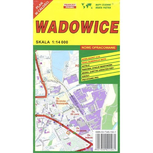 Wadowice Town Map