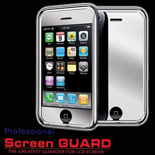 LCD MIRROR Screen Protector for APPLE iPhone 3G/3GS