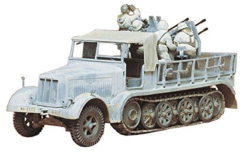 1 / 35 deutscher Jagdpanzer 50 Deutschland 8 Tonnen Semitrack SD.Kfz.7 Vierbettzimmer Flak 35050