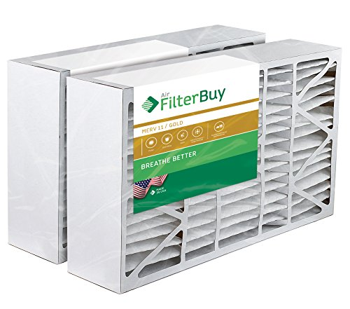2 - 16x28x6 Aprilaire Space-guard 2400 Aftermarket Pleated AC Furnace Air Filters. AFB Gold 11. (Furnace Filters 2400 compare prices)