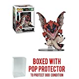 Funko Pop! Games: Monster Hunter - Rathalos Vinyl Figure (Bundled with Pop Box Protector Case) (Tamaño: 3.75 inches)