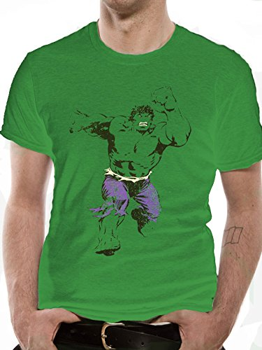 Incredible Hulk Leaping T-shirt Picture
