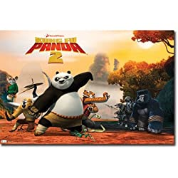 Official &quot;Kung Fu Panda 2&quot; Movie Poster Eligible for FREE Super Saver Shipping