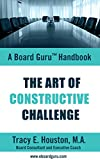 img - for The Art of Constructive Challenge (Board Guru Handbook Book 2) book / textbook / text book