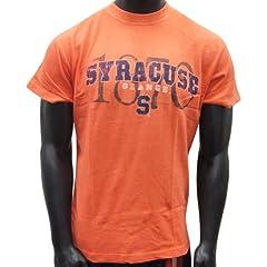 Syracuse Orangemen Orange Vintage Style T-shirt by NCAA