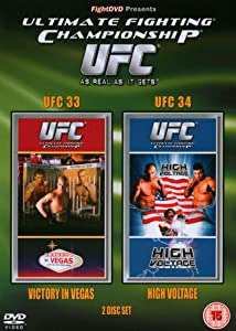 UFC Ultimate Fighting Championship 33 and 34 [DVD]