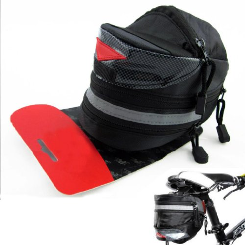 Generic 2-3.5L Bicycle Saddle Bag Cycling Rear Bag generic 2 3 5l bicycle saddle bag cycling rear bag