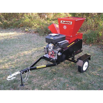 Merry Mac Highway-Towable Chipper/Shredder - 18 HP Briggs & Stratton Vanguard Engine, 4 1/2in. Capacity, Model# SC183-18VEM