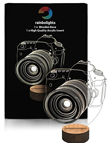 PHOTOGRAPHER GIFTS an AMAZING 3D Illusion light A PERFECT DAD GIFT FOR CHRISTMAS or BIRTHDAY GIFT For DAD By rainbolights NEW PRODUCT 2016!