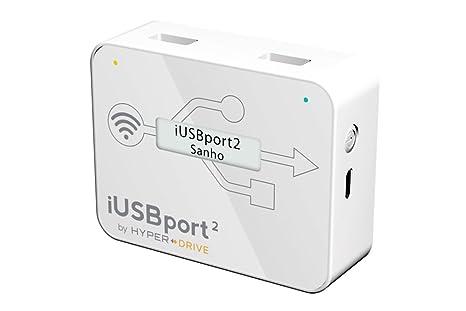 Sanho IUSBPORT2 Adaptateur USB Wi-Fi Blanc