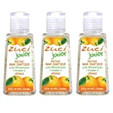Zuska Junior Hand Sanitizer - Orange (30ml) (Pack of 3)