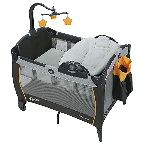 Graco Pack 'n Play with Portable Napper and Changer Playard, Sunshine (Graco Portable Playard compare prices)