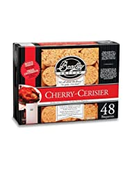 Cherry Bisquettes 48 Pack by Bradley Smoker (USA) Inc.