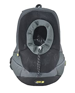 Wacky Paws Pet Backpack, Large, Black
