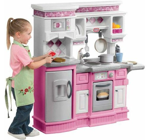 Little Tikes Gourmet Prep 'n Serve Kitchen - Comes in Pink too!