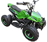 Kids Rocket Rampage Extreme 1000w Electric Battery Quad Bike 36v 1000 watt Ride On Quad Bike (Green)