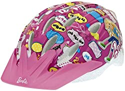 Bell Child Barbie Pedalin' Pretty Bike Helmet (Pink) by Bell