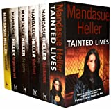 Chris Ryan Mandasue Heller Collection 6 Books Set Pack RRP: £ 41.94 (Snatched, Tainted Lives, The Charmer, The Front, The Game, Forget me not) (Mandasue Heller Collection)
