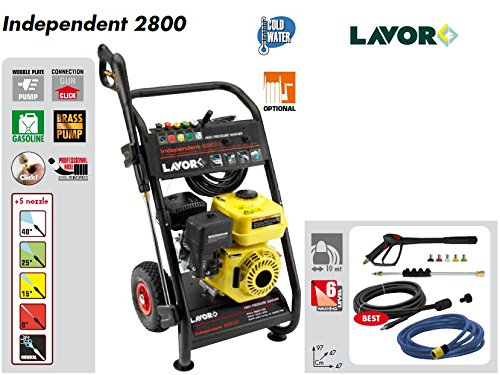 Idropulitrice Lavor Independent 2800 Motore a Scoppio 200 Bar