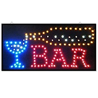 Led cocktail bar