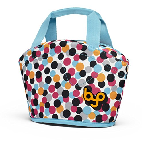 BYO Gusto Neoprene Lunch Bag, Dot Candy Pink - 1