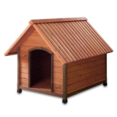 Pet Squeak Arf Frame Natural Dog House, Large