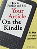 51mI5BDCi9L. SL160  How to Publish a Magazine on a Kindle