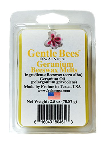 Gentle Bees Geranium Beeswax Melts