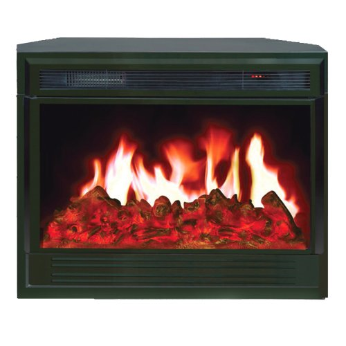 Yosemite Home Decor Df-Efp955B Hardy Electric Insert, Black