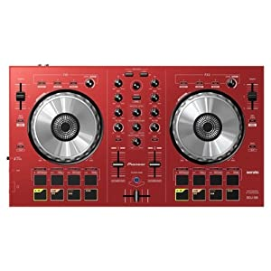 Pioneer Ddj-sb-r | 2 Channel Controller for Serato Dj | Red Rosso
