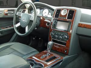 Chrysler 300 300c Hemi Touring Interior Burl Wood Dash Trim Kit Set 2008 2009 2010