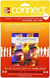 img - for Connect 1-Semester Access Card for Accounting: What the Numbers Mean book / textbook / text book