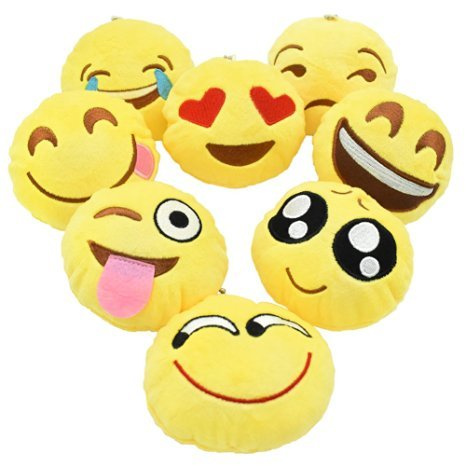 14-Emoji-Pillow-set-of-12-Assorted-Emojis