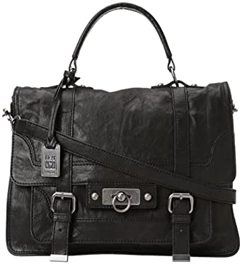 FRYE Cameron Satchel Handbag,Black,one size