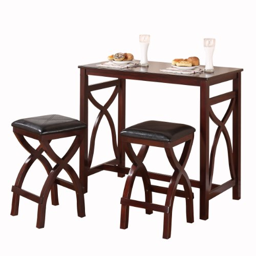How do i homelegance 2557 36 3a 3 piece counter height for 3 piece dining room set
