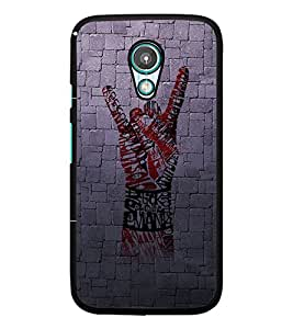 PrintDhaba Typography D-3256 Back Case Cover for MEIZU M1 NOTE (Multi-Coloured)