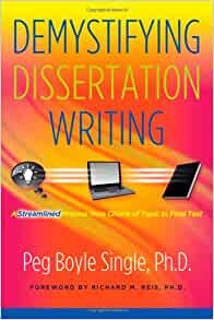 Demystifying dissertation writing peg boyle single