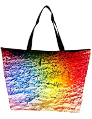 Snoogg Colorful Concrete Abstract Designer Waterproof Bag Made Of High Strength Nylon
