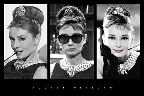 Audrey Hepburn - Triptych 36