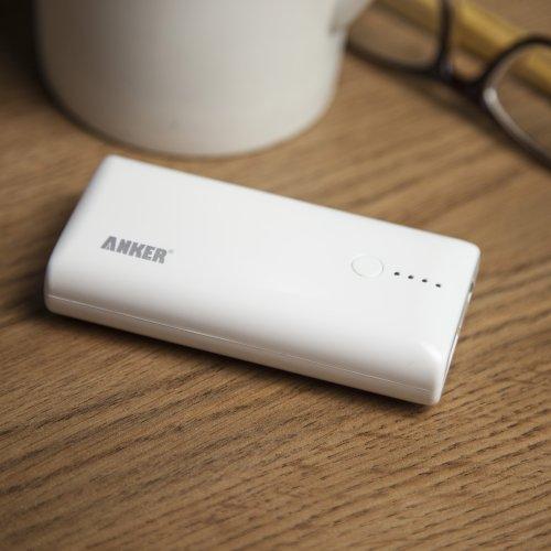 ANKER Astro M1 5200mAh モバイルバッテリー iPhone6 iPhone5S 5C 5 4S / iPad Mini Retina / iPod / Galaxy / Xepria / Android / 各種スマホ / Wi-Fiルータ等対応 大容量かつコンパクト 92 x 45 x 22mm (日本語説明書付き) Astro M1
