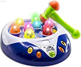 WolVol Musical Fun Hammer Pounding Toy Game with Lights, Scores & Levels